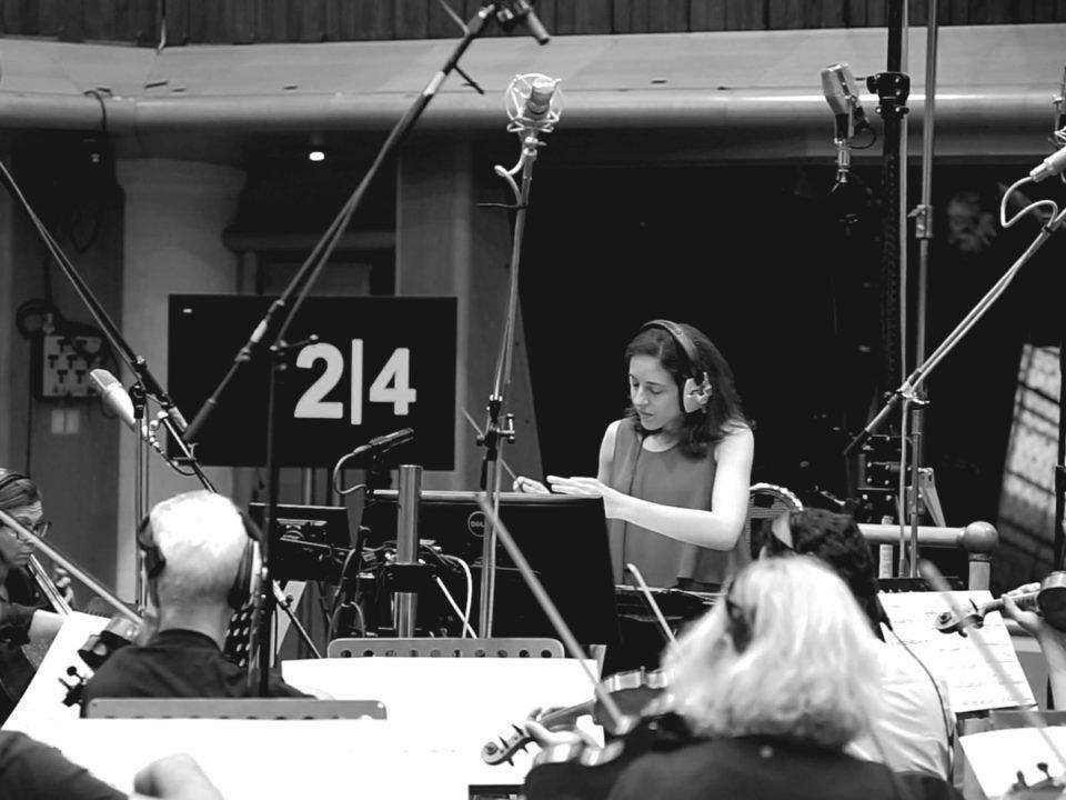 Dirigiendo en Air Studios